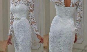 20 Luxury Short White Wedding Reception Dress