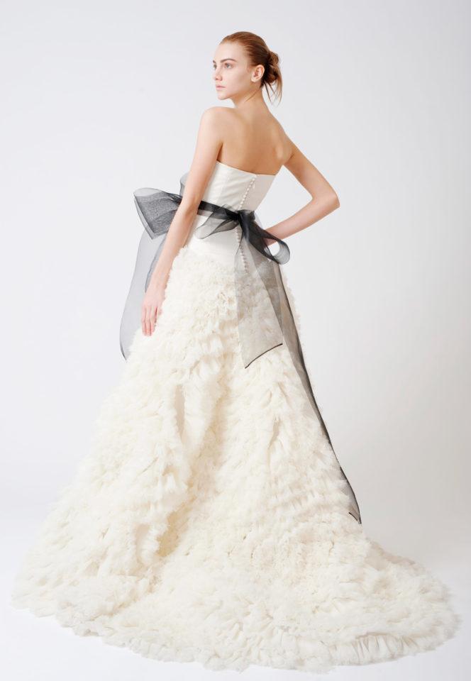 Silk Satin Wedding Dress Best Of Vera Wang