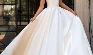 28 Awesome Silk Wedding Dresses
