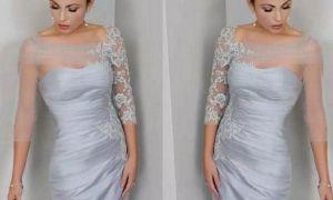 20 Inspirational Silver Bride Dresses