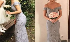 20 Elegant Silver Dresses for Wedding