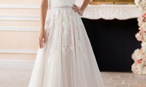 29 Inspirational Silver Wedding Dresses