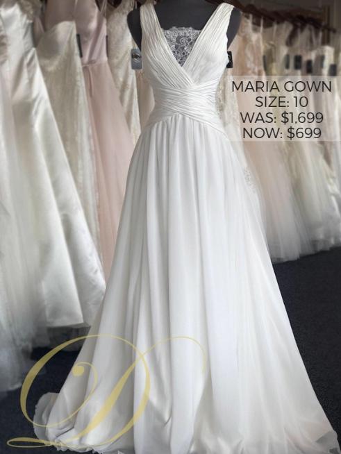 Maria Gown Size 10 Danelles Bridal Outlet