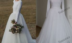 26 Elegant Simple but Elegant Wedding Dresses