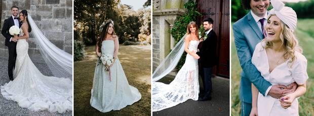 Simple Elegant Wedding Dresses Second Wedding Inspirational thevow S Best Of 2018 the Most Stylish Irish Brides Of