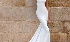 28 Lovely Simple Fitted Wedding Dresses