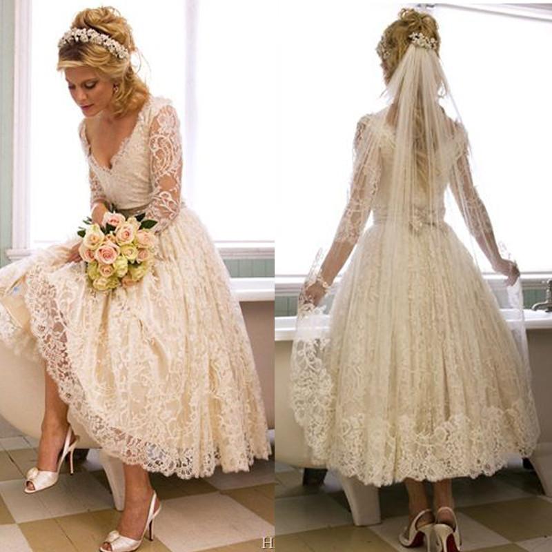 white lace wedding gown luxury t length formal dresses unique kupuj line wyprzedaowe white tea