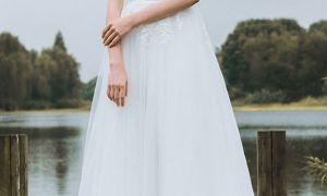 20 Elegant Simple Lace Wedding Dresses