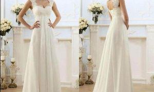 21 Inspirational Simple Maternity Wedding Dresses