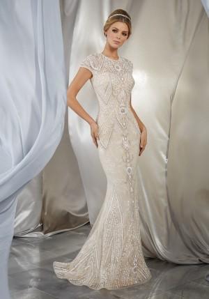 Simple Mermaid Wedding Dresses Beautiful Mermaid Wedding Dresses and Trumpet Style Gowns Madamebridal