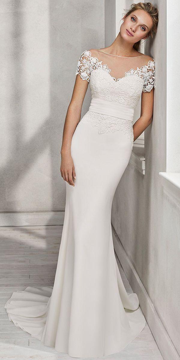Simple Mermaid Wedding Dresses Lovely 53 Simple and Unique Mermaid Wedding Dress Ideas