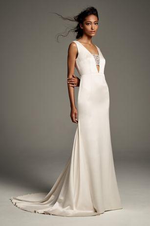 Simple Mermaid Wedding Dresses Luxury White by Vera Wang Wedding Dresses & Gowns