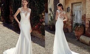 20 Unique Simple Mermaid Wedding Dresses