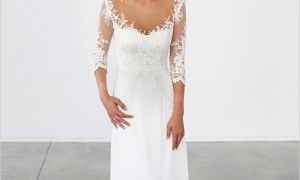30 Lovely Simple Second Wedding Dresses