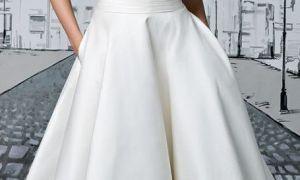 22 Beautiful Simple Tea Length Wedding Dresses