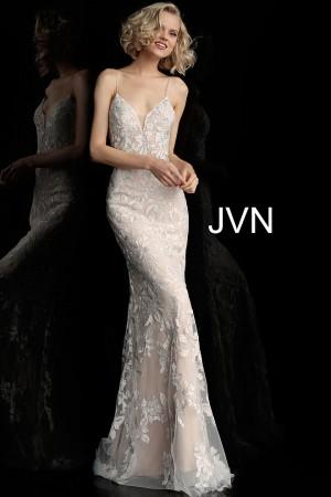 jovani jvn backless embroidered formal gown 01 537