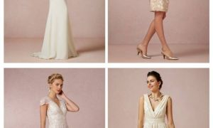 29 New Simple Wedding Dresses for Second Marriage