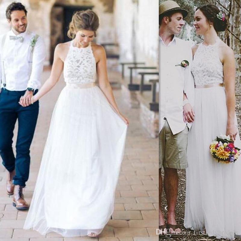 2017 cheap simple wedding dresses a line