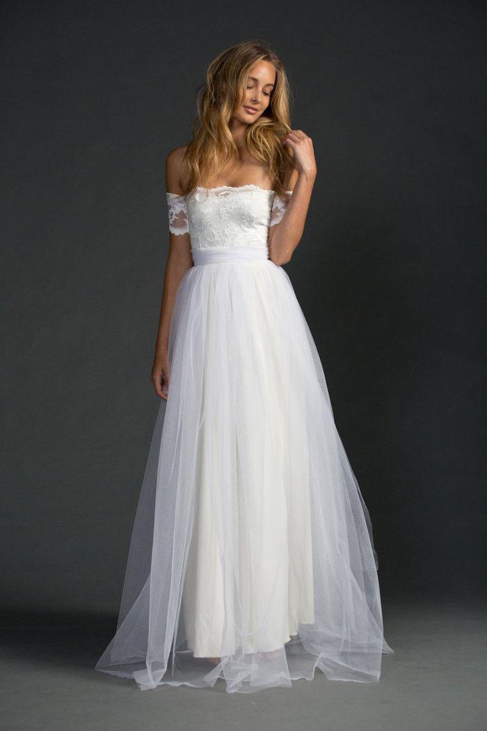 Simple White Beach Wedding Dress Unique Beautiful Wedding Dresses for Beach Weddings