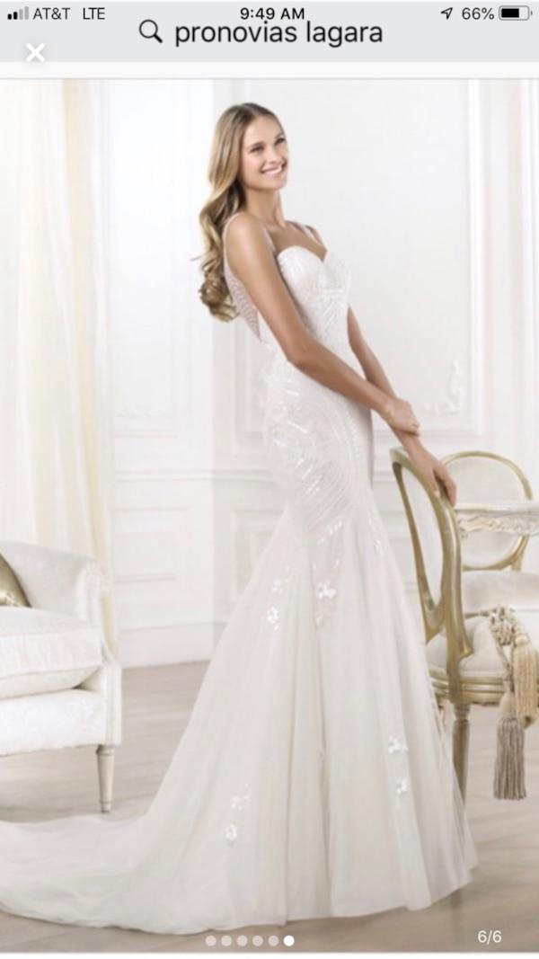 Size 6 Wedding Dress Lovely Pronovias Lagera Wedding Dress Gown New