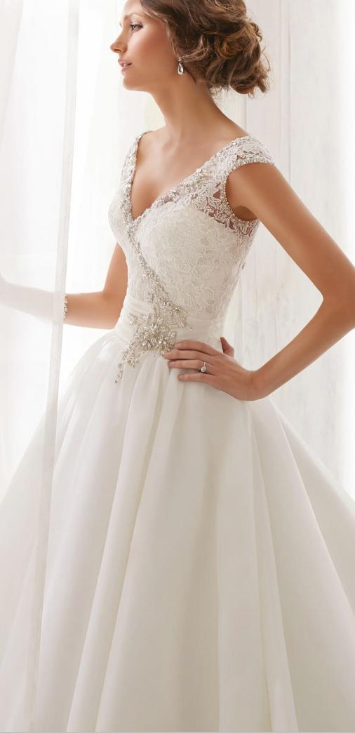 Size 6 Wedding Dress Unique Private Label $399 Size 6