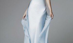 23 Lovely Sky Blue Dresses for A Wedding