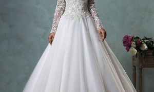 29 Elegant Sleeve Wedding Gown