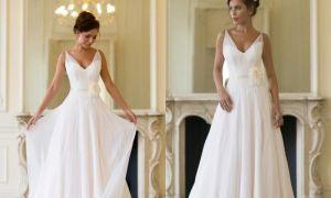 25 Elegant Slip Style Wedding Dress