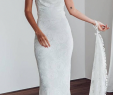 Slips for Wedding Dresses Beautiful Simply Elegant Mermaid White Lace Long Wedding Dress with