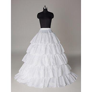 Slips for Wedding Dresses Inspirational Nylon A Line Full Gown 5 Tier Floor Length Slip Style