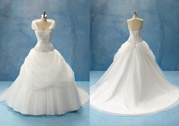 Slips for Wedding Dresses Luxury Alfred Angelo Disney Belle Wedding Dress