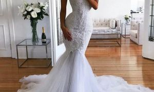 27 Unique Strapless Mermaid Wedding Dress