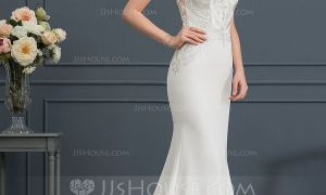 20 Lovely Stretch Wedding Dresses
