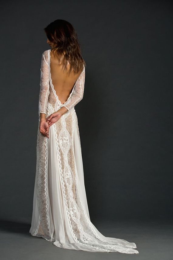 Stretchy Lace Wedding Dress Best Of What A Bombshell 15 Sheer and Illusion Wedding Dresses