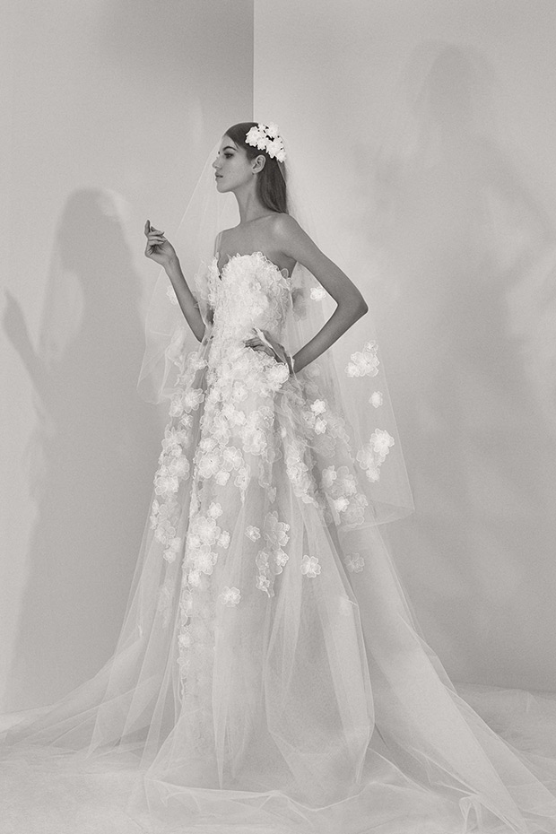 Elie Saab Bridal Fall 2107 wedding dress 9