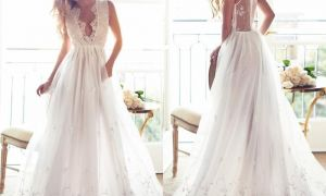28 Elegant Summer Bridal Dress