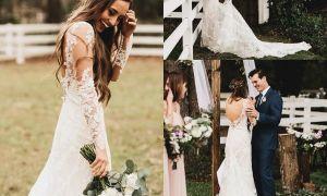 28 Inspirational Summer Lace Wedding Dresses