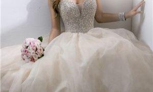28 Elegant Swarovski Wedding Dresses