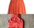 Tangerine Dresses for Wedding Unique Tangerine Pleated Halter Dress This Marilyn Monroe Inspired
