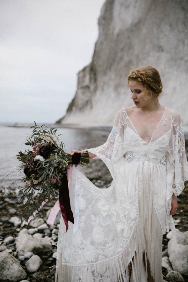 beautiful wedding dresses inspiration rue de seine fringe wedding dress
