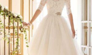 23 Inspirational Tea Length Bridal Gown