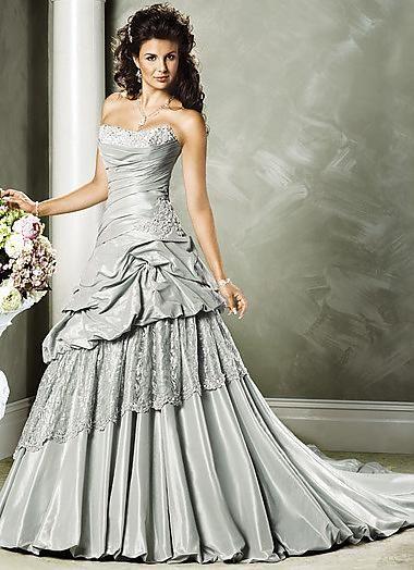 silver wedding gown luxury silver wedding dresses