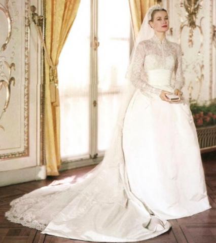 Grace Kelly Wedding Dress 0