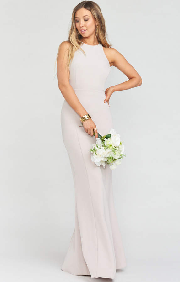 Tj Maxx Wedding Dresses Fresh Chicago High Neck Gown Show Me the Ring Stretch Crepe
