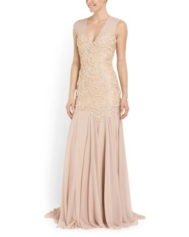 Tj Maxx Wedding Dresses Luxury Beaded Detail Gown Can I Go to Prom Again so I Can Wear