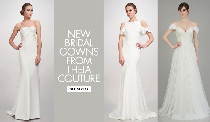 Top Bridal Designers New Trendy and Modern Bridal Gowns Separates & Accessories From