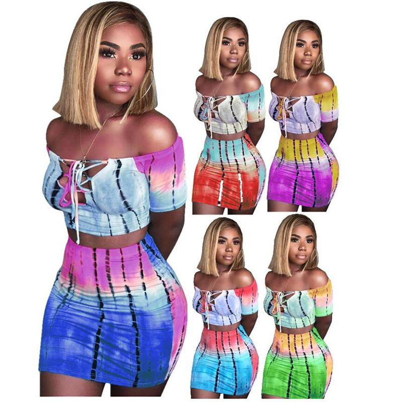 women two piece outfits night club designer