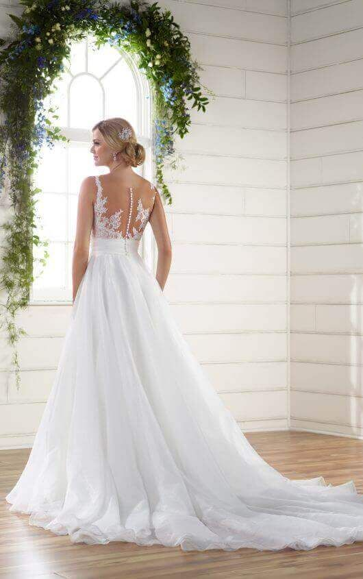 Top Wedding Dress Awesome Unique asymmetrical Neckline Wedding Dress