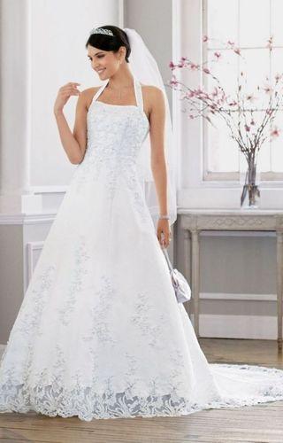 kupuj online wyprzedaowe wedding dress satin top lace bottom od especially summer wedding dress designers