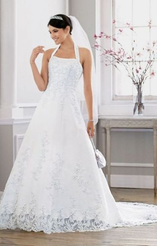 kupuj online wyprzedaowe wedding dress satin top lace bottom od especially summer wedding dress designers